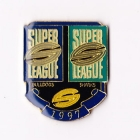 1997 WCC Super League Bulldogs v Sharks Pin Badge