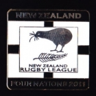 2011 New Zealand RL Four Nations Series Pin Badge n2