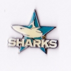1998 Cronulla Sutherland Sharks NRL AJ Parkes Pin Badge