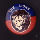 1960s Fitzroy Lions VFL The Lions Small Button Badge