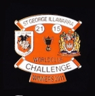 2011 St George Illawarra Dragons WCC Winners Pin Badge n2