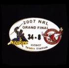 2007 NRL Grand Final Score Storm v Sea Eagles Pin Badge