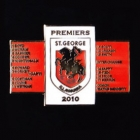 2010 St George Illawarra Dragons NRL Premiers Players Pin Badge