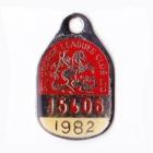 1982 St George Leagues Club Member Badge