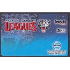 2004 North Sydney Leagues Club and Seagulls Member Card