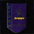 2011 Melbourne Storm NRL Year Established Home Pin Badge
