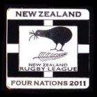 2011 New Zealand RL Four Nations Series Pin Badge n1