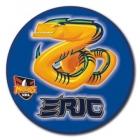 2010 Parramatta Eels NRL Mascot SS Button Badge