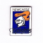 2002 Newcastle Knights NRL Logo Trofe Pin Badge