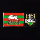 2010 South Sydney Rabbitohs NRL Away Pin Badge