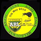 2010 RL Test Australia v New Zealand Pin Badge a