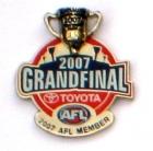 2007 AFL Grand Final Member Pin Badge