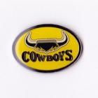 1998 North Queensland Cowboys NRL AJ Parkes Pin Badge