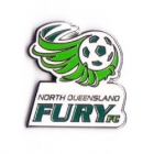 2009 North Queensland Fury A-League Trofe Pin Badge