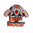 2005 Wests Tigers NRL Premiers Pin Badge