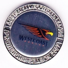 2007 West Coast Eagles AFL Medallion