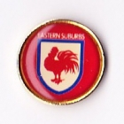 1995 Sydney City Roosters ARL Logo Bensons Pin Badge