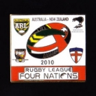 2010 RL Four Nations Pin Badge e