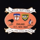 2009 RL Four Nations Pin Badge e