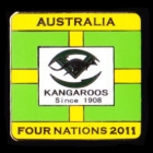 2011 Australia RL Four Nations Series Pin Badge a2