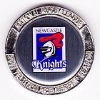2007 Newcastle Knights NRL Medallion