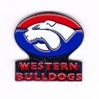 2006 Western Bulldogs AFL Cashs Pin Badge