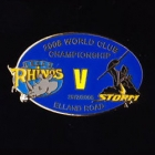 2008 WCC Storm v Leeds Pin Badge as