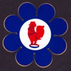 1960s Eastern Suburbs Roosters NSWRL Whoops a Daisy Sticker