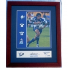 2003 NRL Player Willie Mason Signed Pin Badge Set No 142