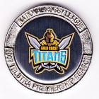 2007 Gold Coast Titans NRL Medallion