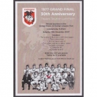 2007 St George NRL Grand Final DRLFC Luncheon Flyer