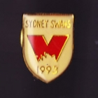 1993 Sydney Swans AFL Member Pin Badge