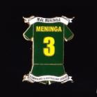 2009 NRL Player Mal Meninga Pin Badge a