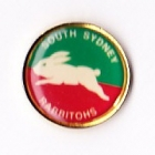 1995 South Sydney Rabbitohs ARL Logo Bensons Pin Badge