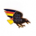 1998 Adelaide Crows AFL Gold Member Pin Badge