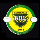 2011 Australia RL Four Nations Winners Pin Badge a1