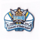 2008 Gold Coast Titans RL Centenary Pin Badge