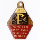 1973 Penrith Leagues Club Member Badge