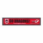 2011 St George Illawarra Dragons NRL Go Dragons Member Sticker