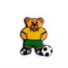 2006 Australia Socceroos FWC Bear Pin Badge